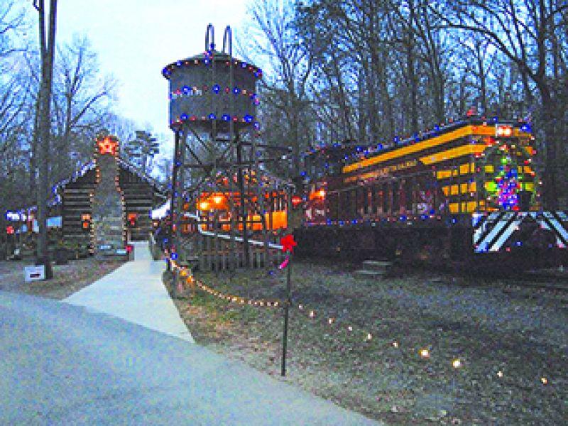 country christmas train visitnccom - Christmas Train Denton Nc