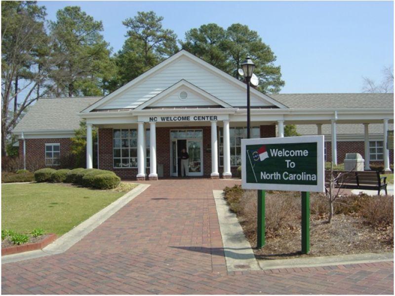 I-95 North N C  Welcome Center | VisitNC com