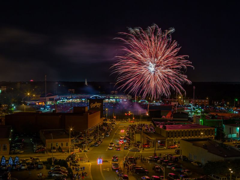 See Fireworks During Fourth Of July And All Summer In Nc Visitnccom