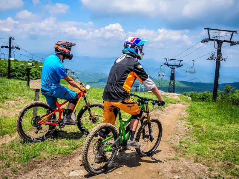 Mountain Biking In The North Carolina High Country Visitnc Com