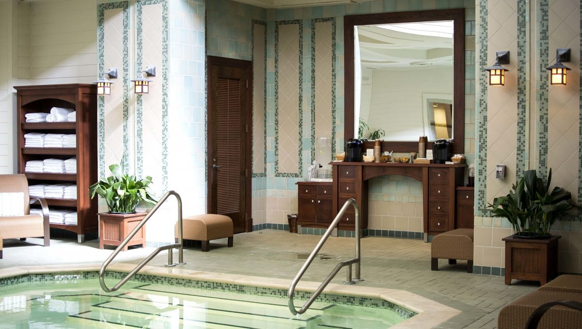 Interior of the Spa at Pinehurst with pool