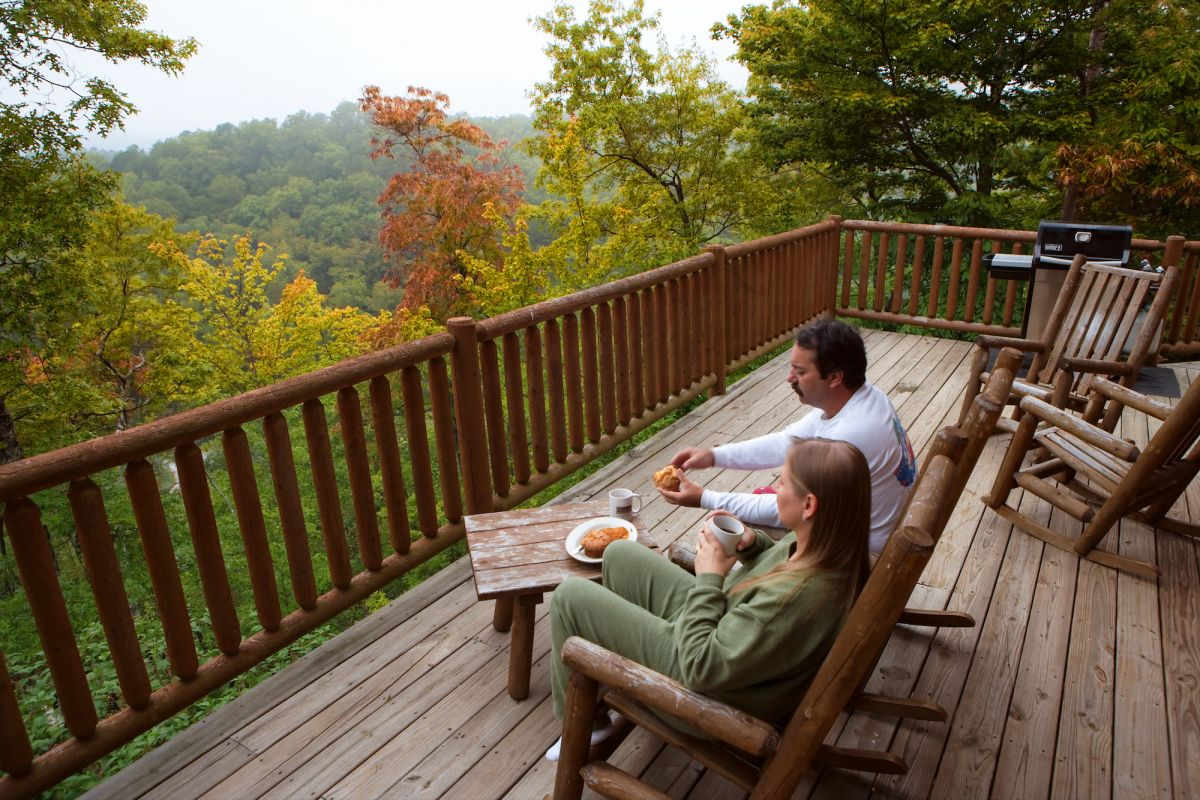 Mountain cabin rentals are in abundance but they sell out fast during fall