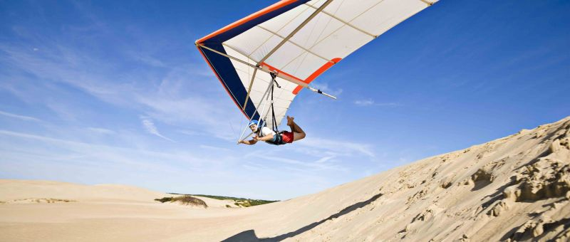 Hang Gliding at Jockey's Ridge State Park