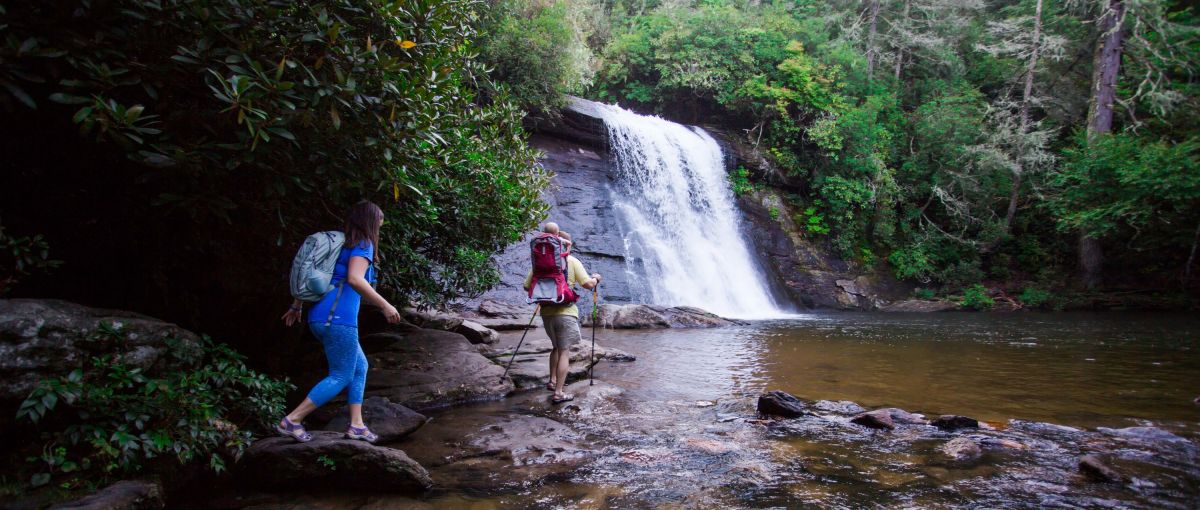 Exploring Jackson County's natural beauty is best enjoyed with love ones