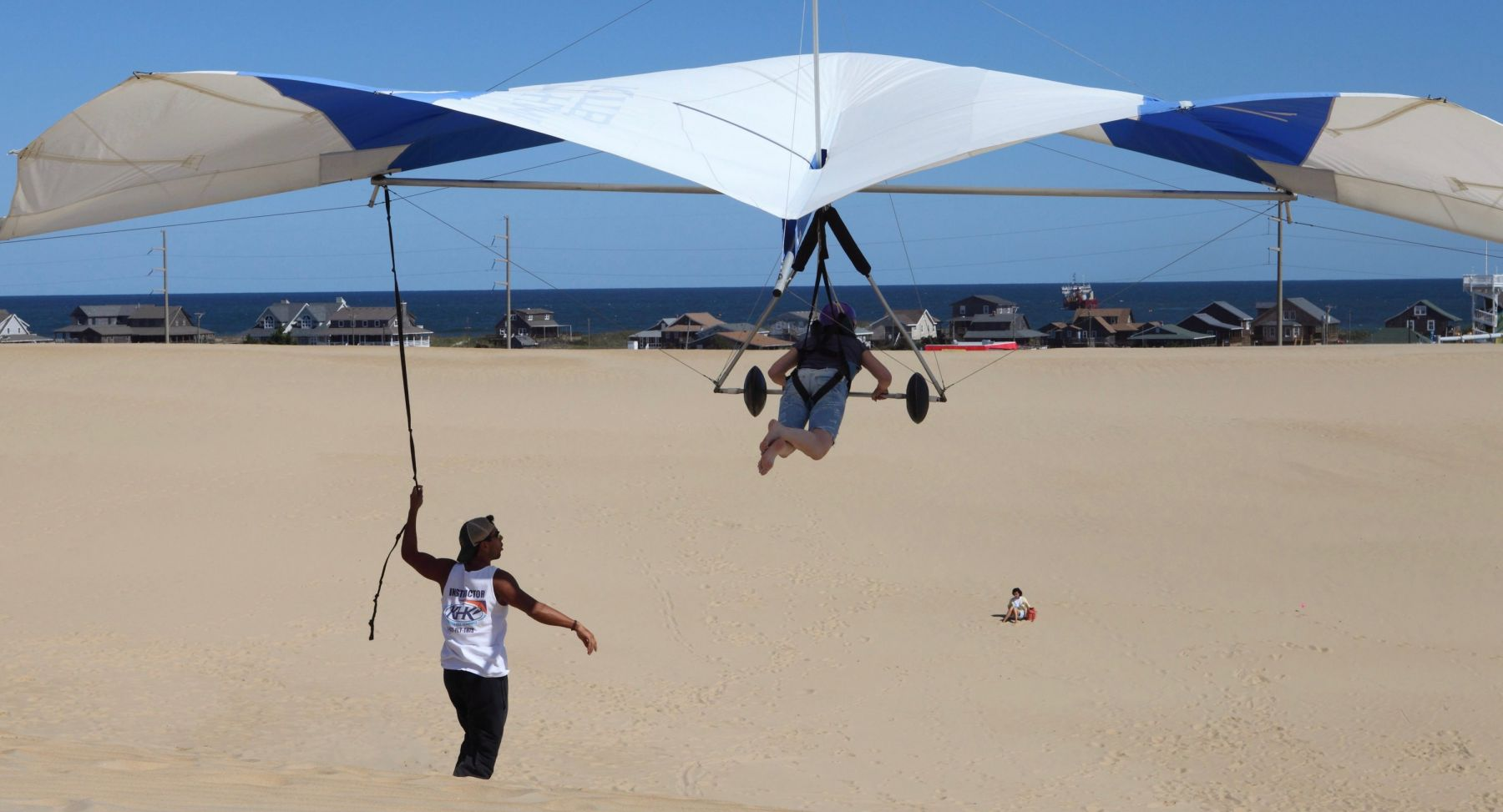 Beyond the Guidebook: Hang Gliding on the Outer Banks | VisitNC com