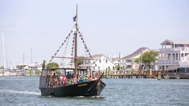 7a7d9b68aad The Revenge boat cruise in Beaufort is one of many ways to learn about  Blackbeard — before or after your trip to a brewery