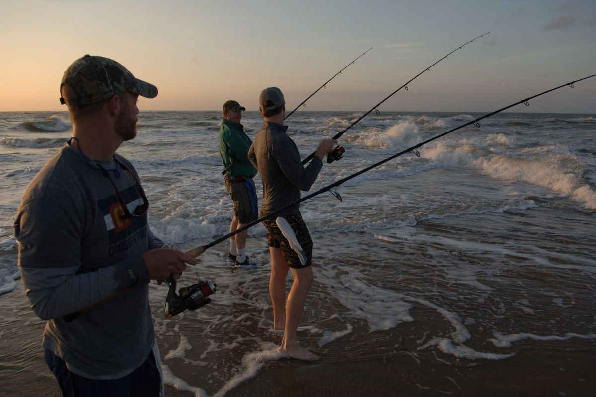 Experience some of the best fall surf fishing at the Bluefish Bonanza