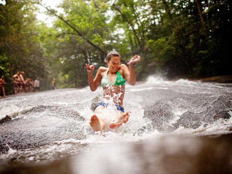 Nature's Pool Party: North Carolina Swimming Holes   VisitNC com