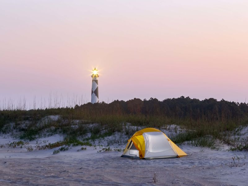 Camping On The North Carolina Coast