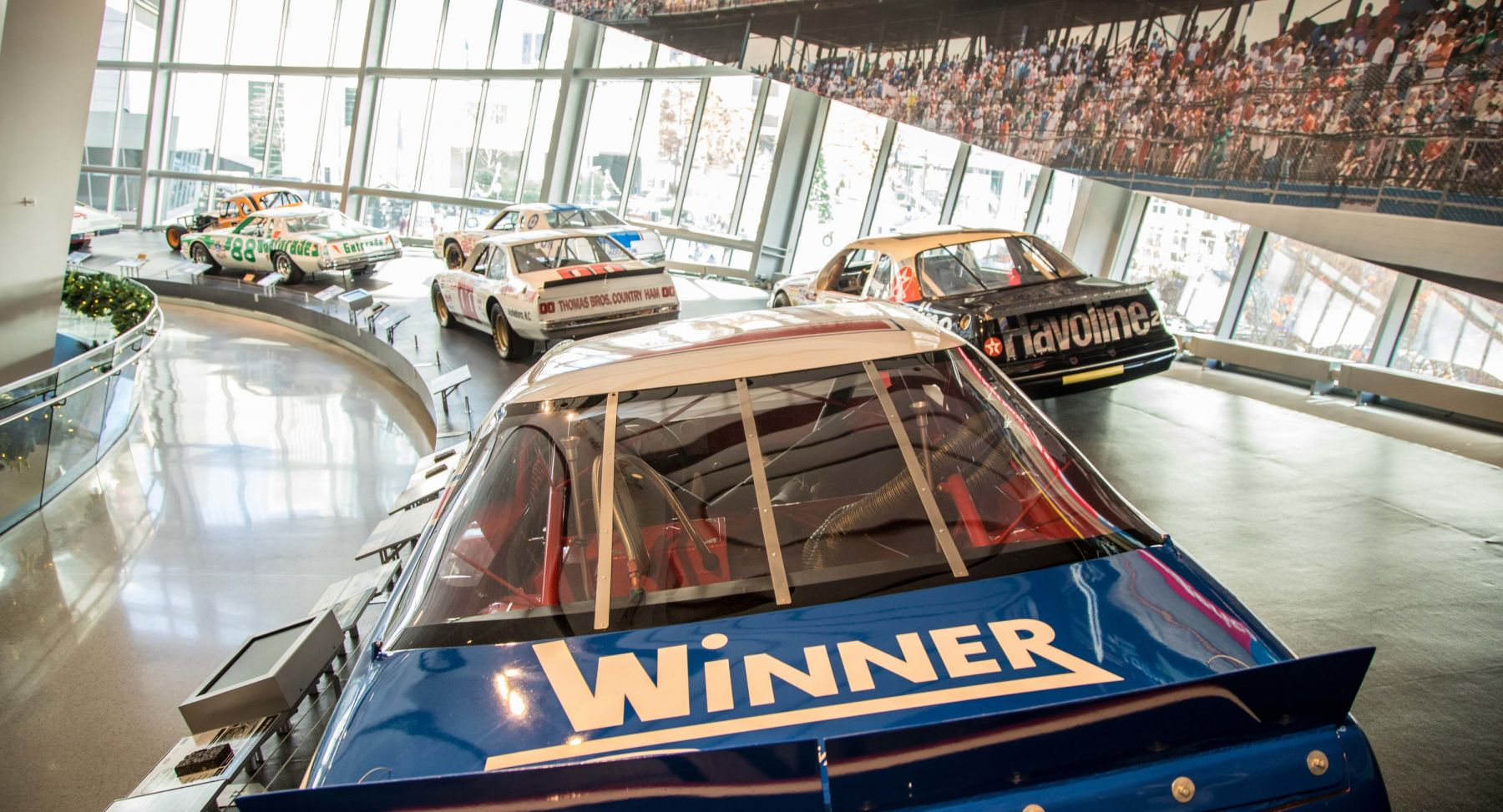 NASCAR Hall of Fame Glory Road Exhibit