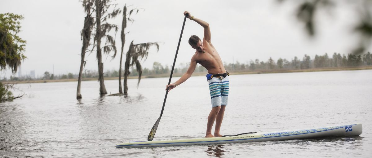 Stand-Up Paddleboarding on Brunswick River