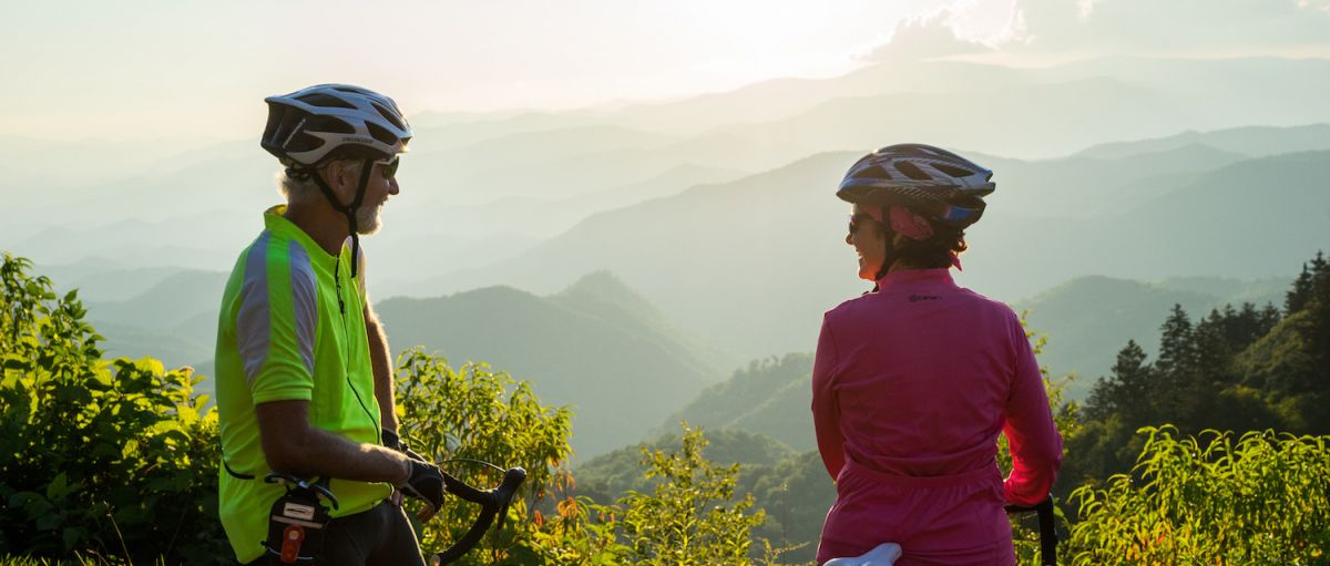 Reward yourself by stopping to take in the views from the Blue Ridge Parkway