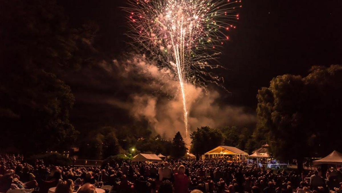 See Fireworks During Fourth of July and All Summer in NC